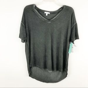 NWT Abound burnout high low t-shirt